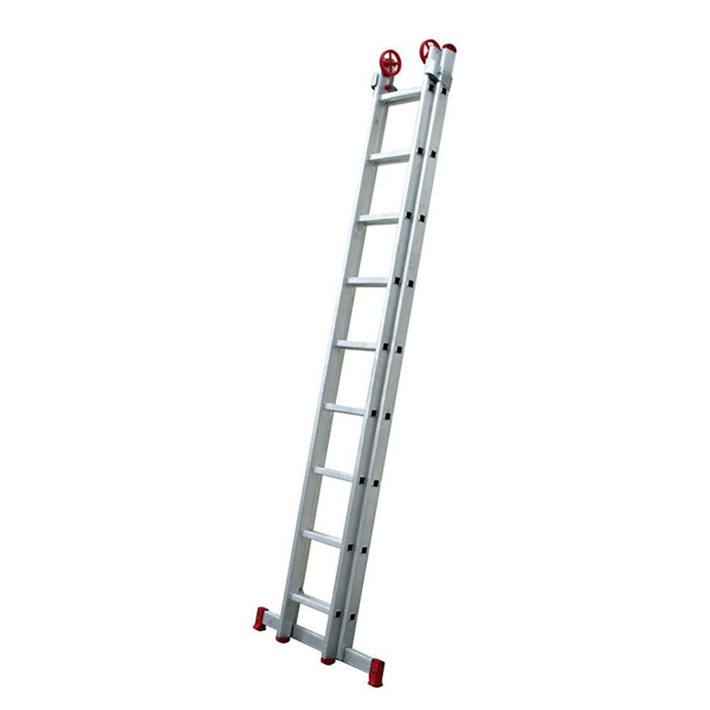 effd50c1c Escada Extensiva 3 em 1 em Alumínio 9 x 2 Degraus - BOTAFOGO-ESC0618 ...