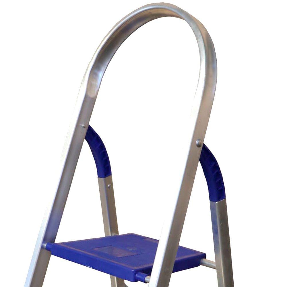 Escada Doméstica em Alumínio 3 Degraus - Imagem zoom