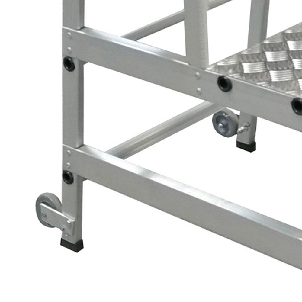 Escada tipo Banqueta Reforçada 750mm 3 Degraus  - Imagem zoom