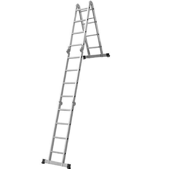 Escada Multifuncional 4x4 com 16 Degraus de Alumínio - Imagem zoom