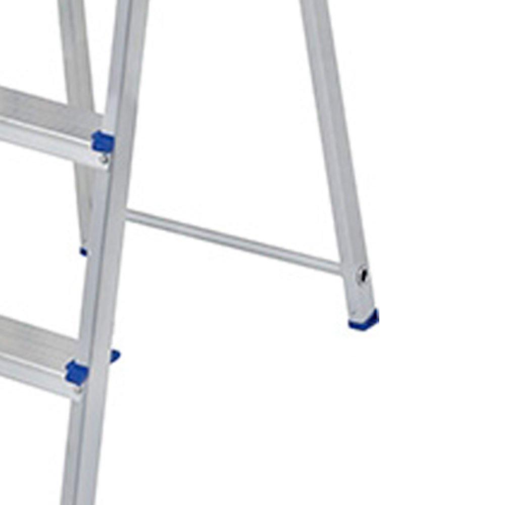 Escada de Alumínio com 4 Degraus para Uso Doméstico - Imagem zoom
