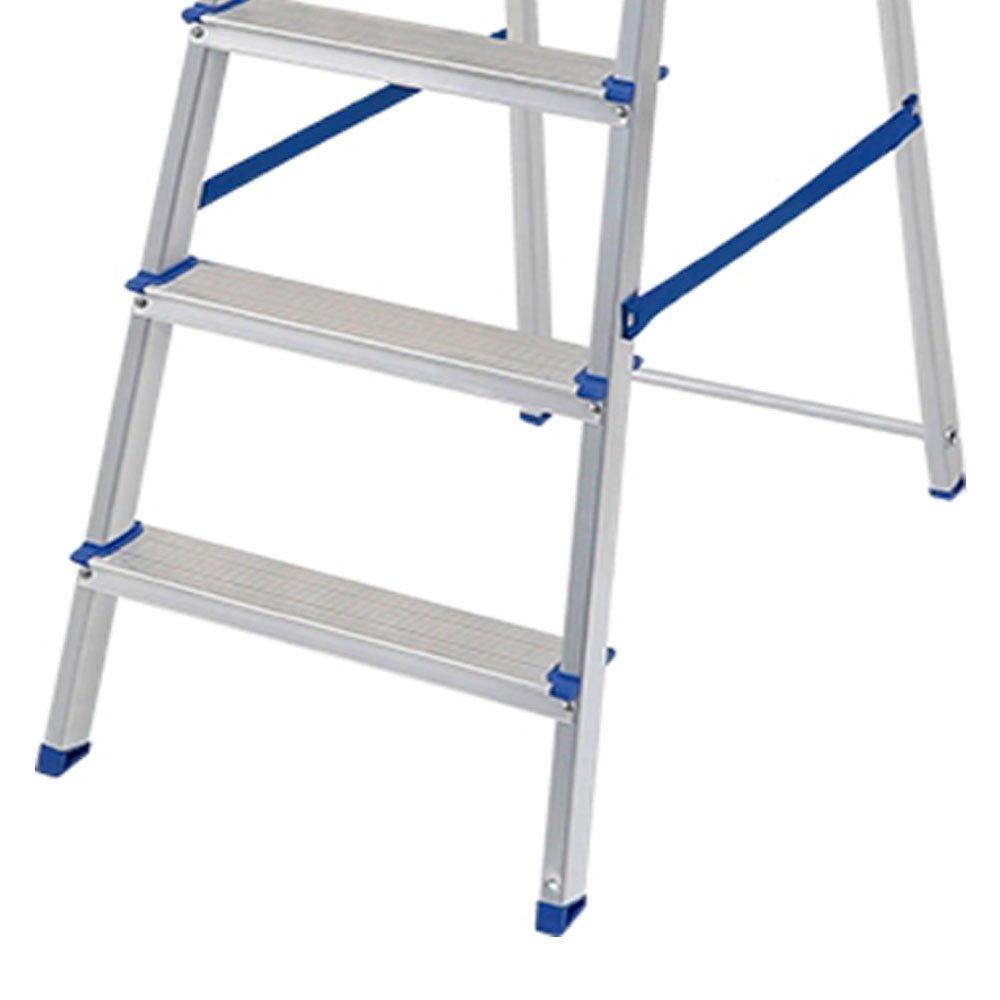 Escada de Alumínio com 6 Degraus para Uso Doméstico - Imagem zoom