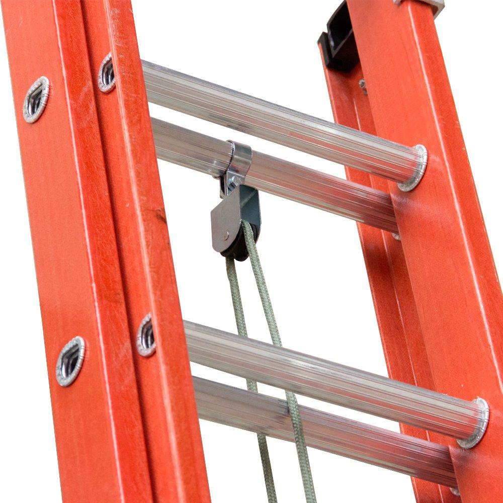 Escada Extensiva com Degraus tipo D e Fibra Vazada 3,60 x 6,00 Metros - Imagem zoom