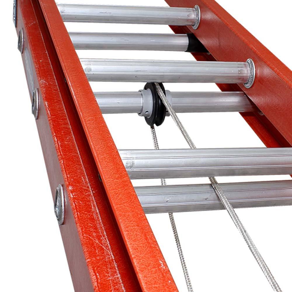 Escada Extensível Vazada 19 Degraus 6 Metros - Imagem zoom