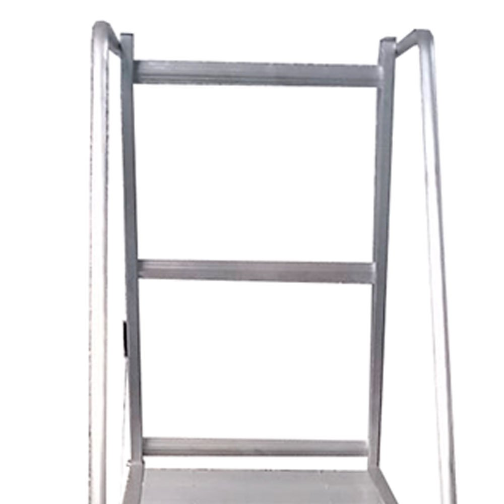 Escada de Alumínio Tipo Plataforma 4 Degraus 1,25 Metros - Imagem zoom