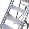 Escada de Alumínio Tipo Plataforma 4 Degraus 1,25 Metros - Imagem 2