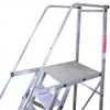 Escada de Alumínio Tipo Plataforma 4 Degraus 1,25 Metros - Imagem 3