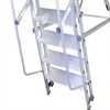 Escada de Alumínio Tipo Plataforma 4 Degraus 1,25 Metros - Imagem 5