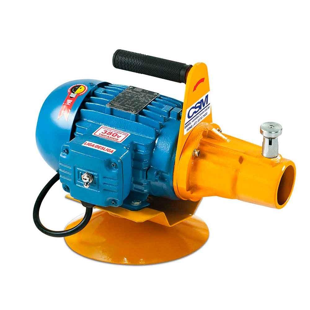 Motor de Acionamento 2CV 220/380V para Vibrador de Imersão com Base Giratória - Imagem zoom