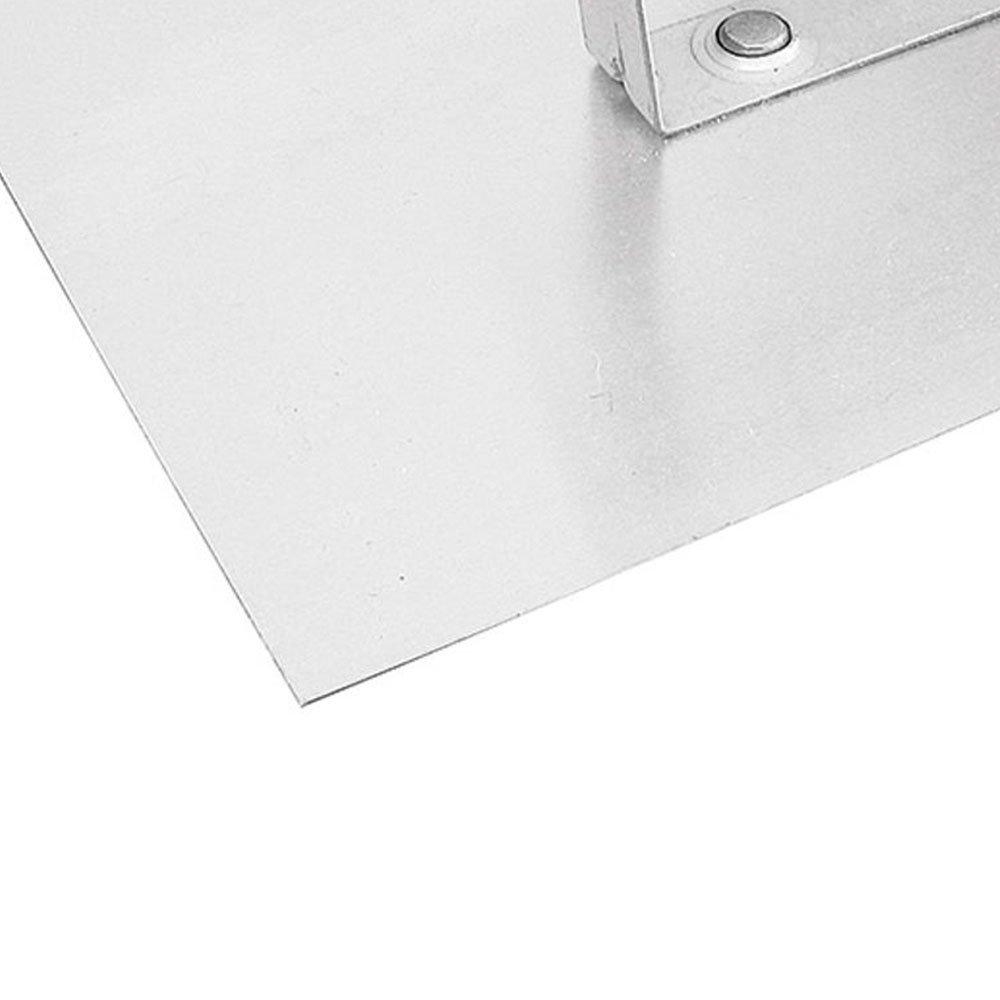 Desempenadeira Lisa em Aço 12 x 24 cm - Imagem zoom