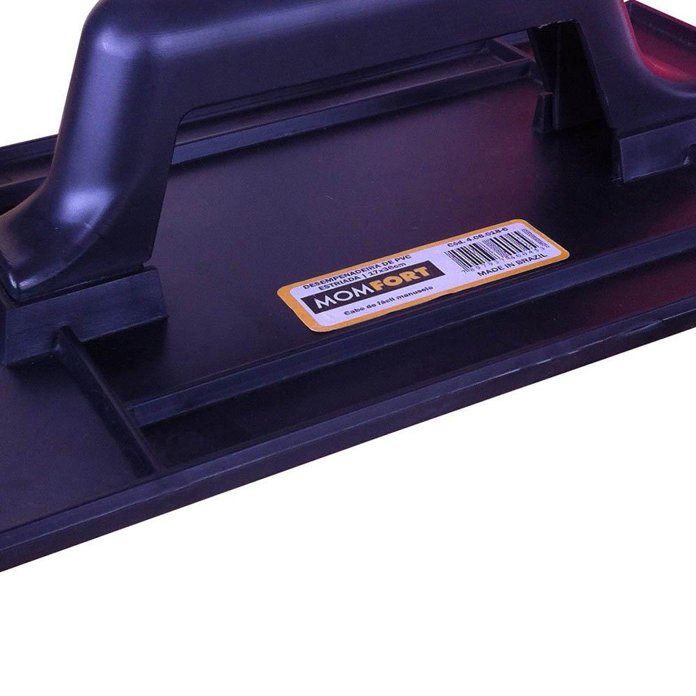 Desempenadeira Lisa em PVC 140x240mm - Imagem zoom