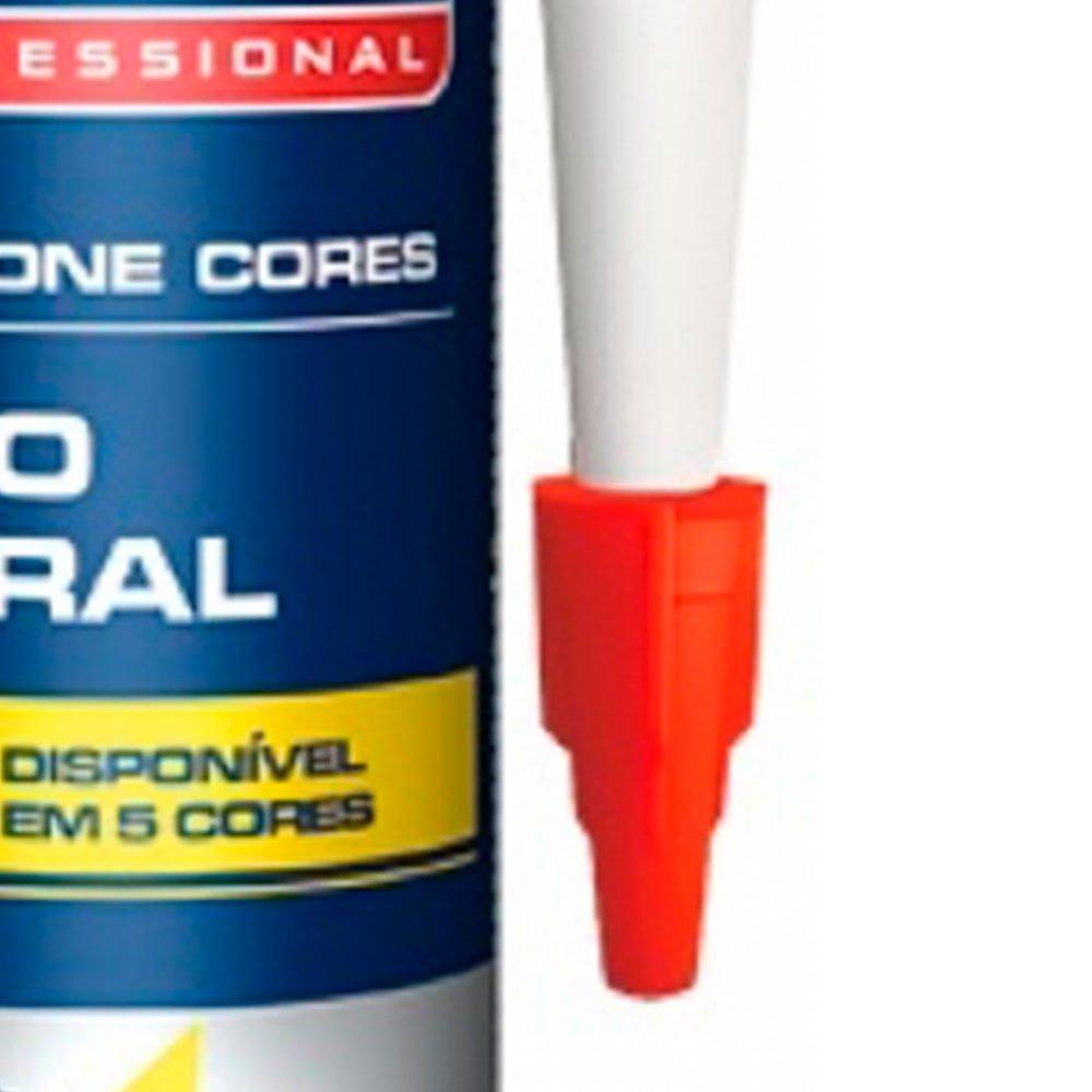 Silicone Branco 280g para Uso Geral - Imagem zoom