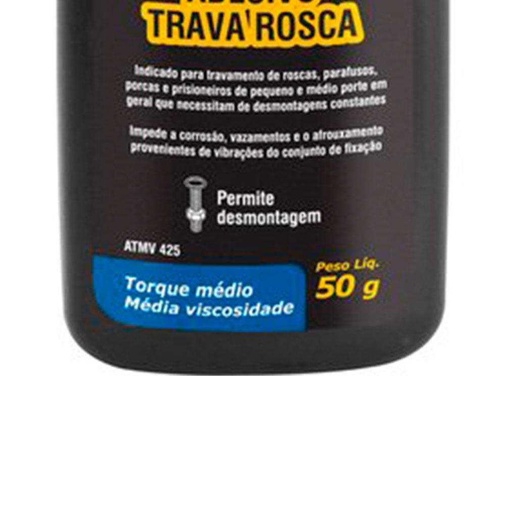 Adesivo Trava Rosca Torque Médio ATMV 425  - Imagem zoom