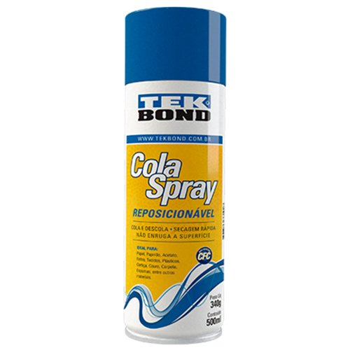 cola spray reposicionável 305g