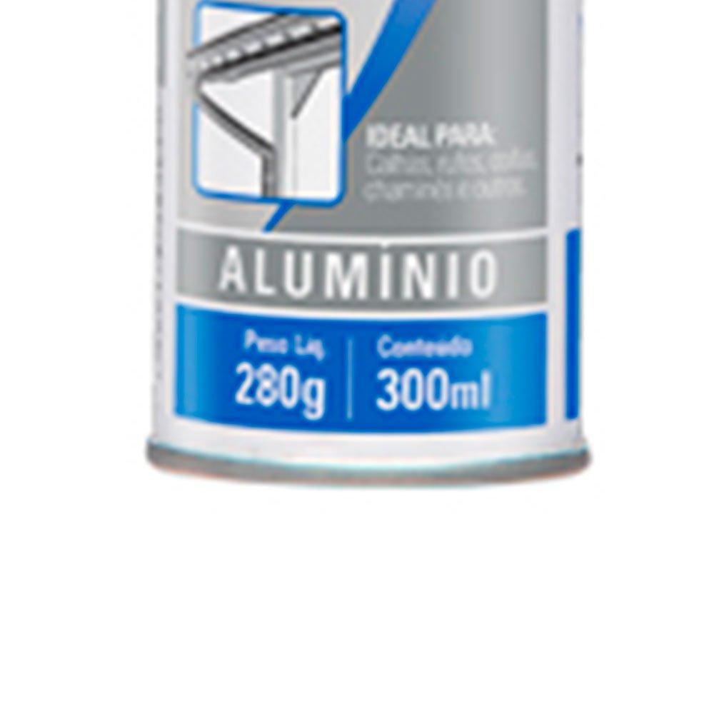 Adesivo Vedador de Calhas Alumínio 280g - Imagem zoom