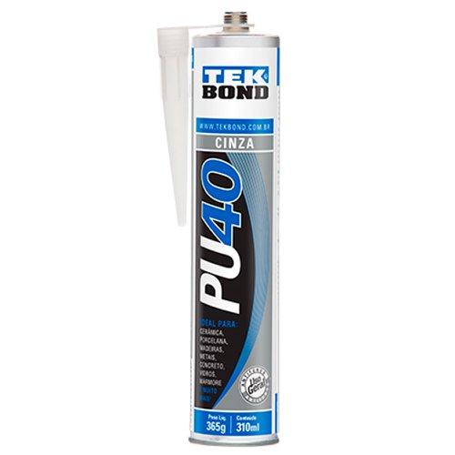 adesivo pu40 cinza de uso geral 310ml