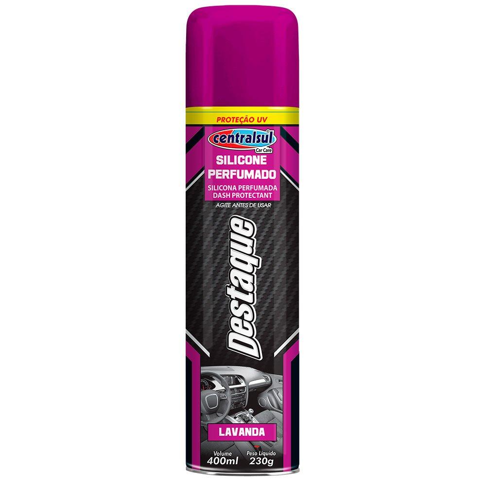 Silicone Spray Destaque Lavanda 400ml - Imagem zoom