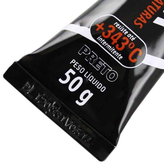 Selante para Motor Neutro Black 50g  - Imagem zoom