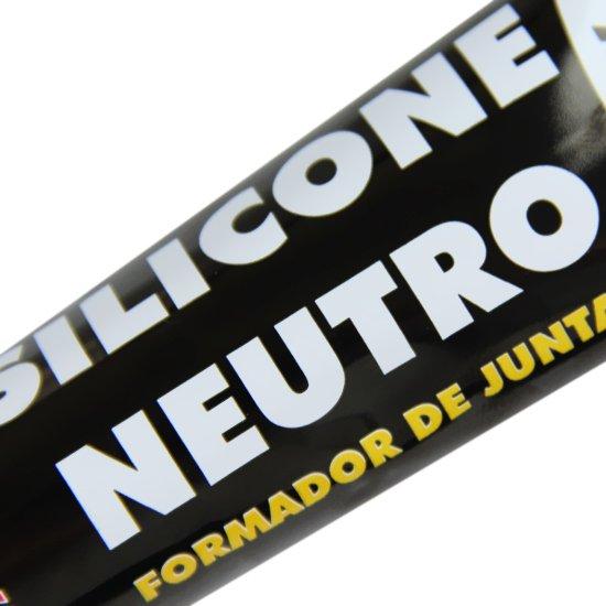 Silicone Alta Temperatura Neutro Black com 50 Gramas - Imagem zoom
