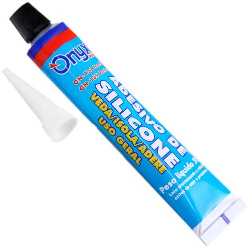 silicone acético incolor 50 gramas