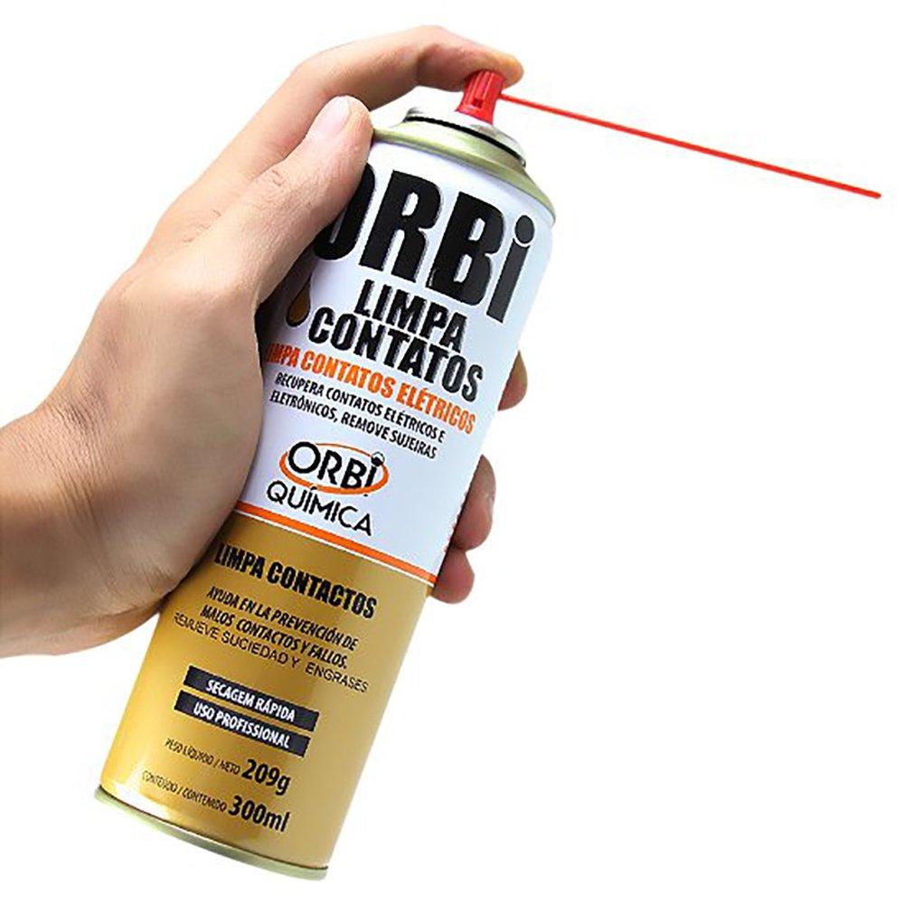Kit Limpa Contatos Elétricos em Spray de 300ml com 12 Unidades - Imagem zoom