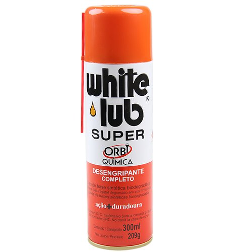 desengripante spray white lub super 300 ml