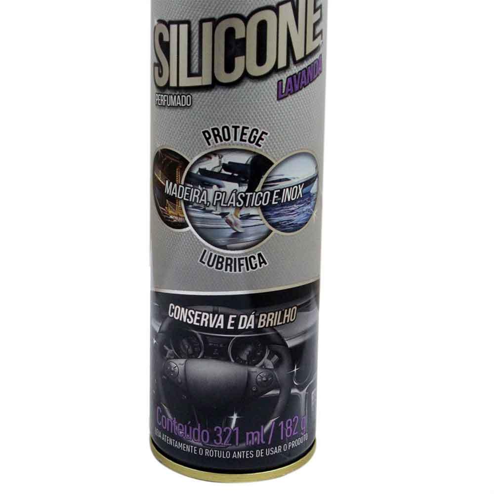 Silicone Aerosol Lavanda de 321ml - Imagem zoom