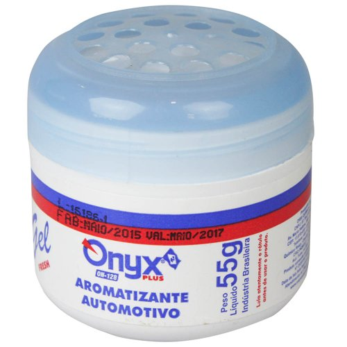 aromatizante automotivo em gel fresh 55 grs