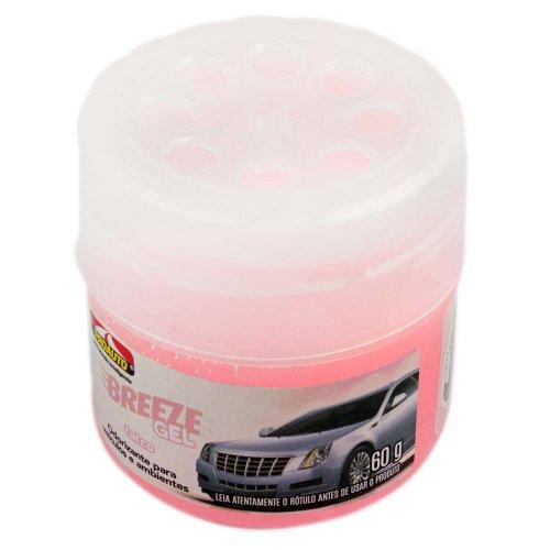 odorizante para automóvel breeze gel talco