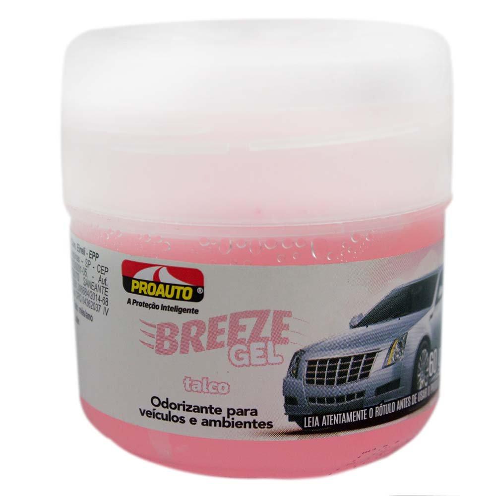 Odorizante para Automóvel Breeze Gel Talco - Imagem zoom