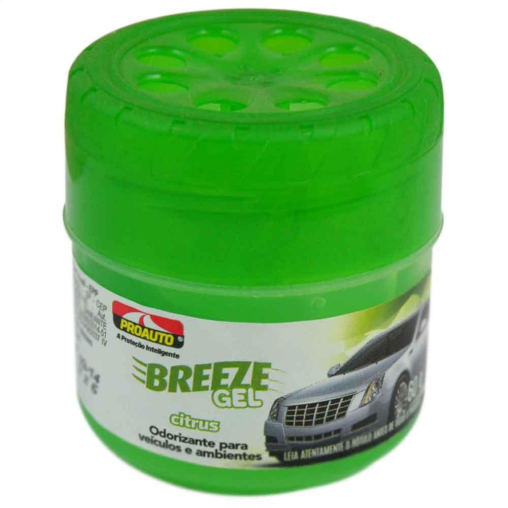 Odorizante para Automóvel Breeze Gel Citrus - Imagem zoom