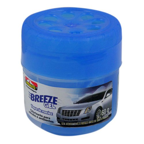 odorizante para automóvel breeze gel - toque de maciez