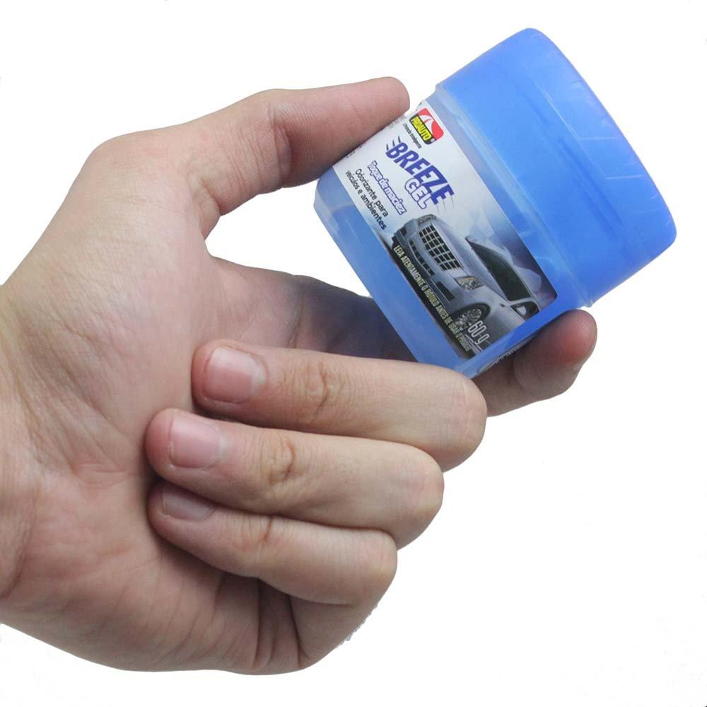 Odorizante para Automóvel Breeze Gel - Toque de Maciez - Imagem zoom