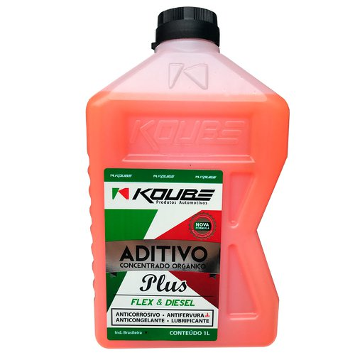 aditivo para radiador concentrado orgânico plus laranja 1l