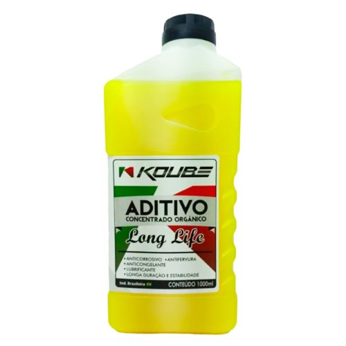 aditivo para radiador concentrado orgânico long life amarelo 1l