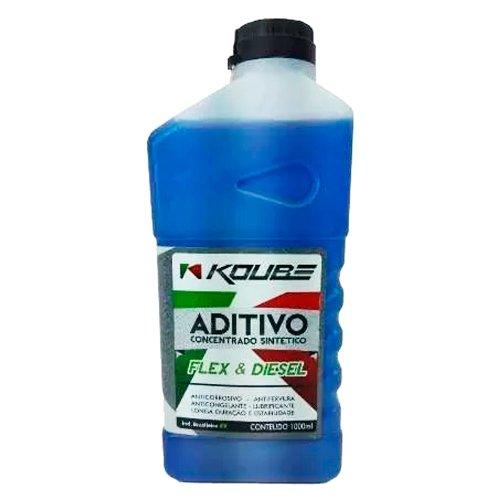 aditivo para radiador concentrado sintético azul 1l