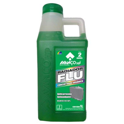 aditivo para radiador concentrado verde 1l