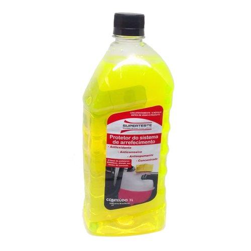 protetor do sistema de arrefecimento amarelo 1 litro