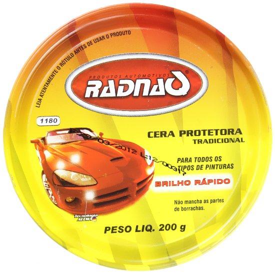 Cera Protetora Automotiva 200 Gramas - Imagem zoom
