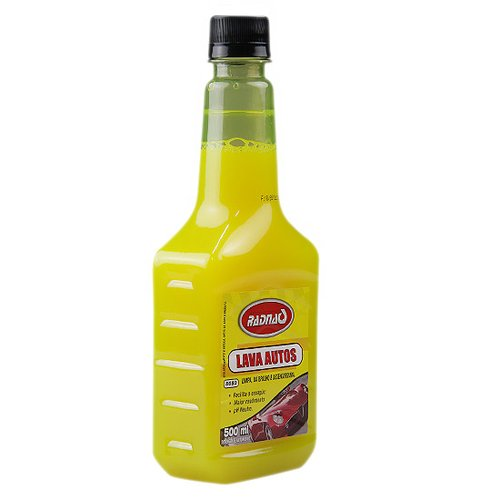lava autos com 500 ml