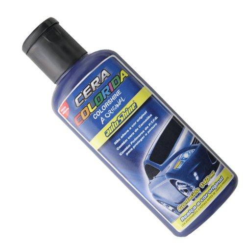 cera colorida azul escuro 140g