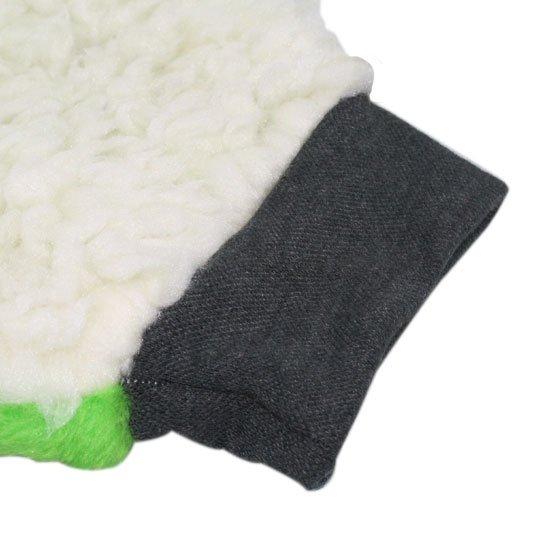 Luva de Pelúcia Face Única para Lavagem de Carro - Imagem zoom