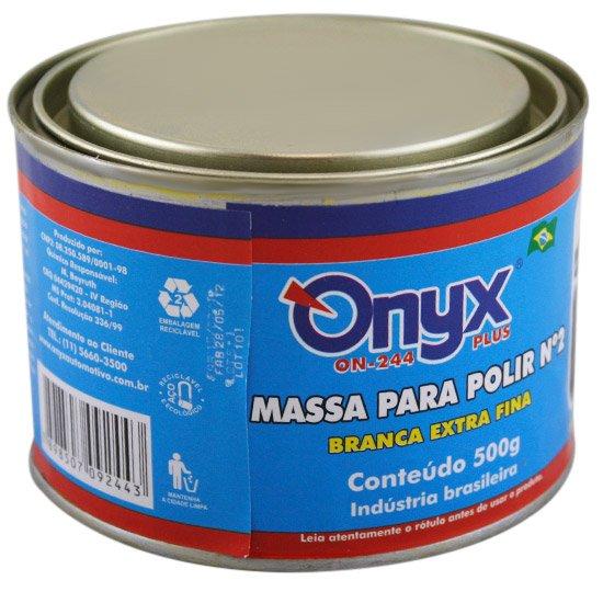 Massa para Polir N°2 500grs - ONYX-ON-244 - R 13.59  5c9aee6c97f