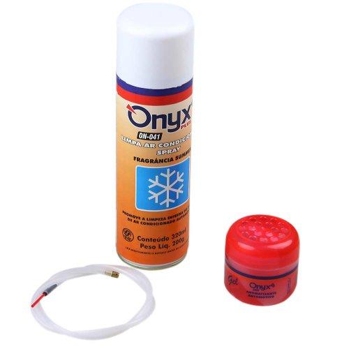 kit limpa ar condicionado com aromatizante summer