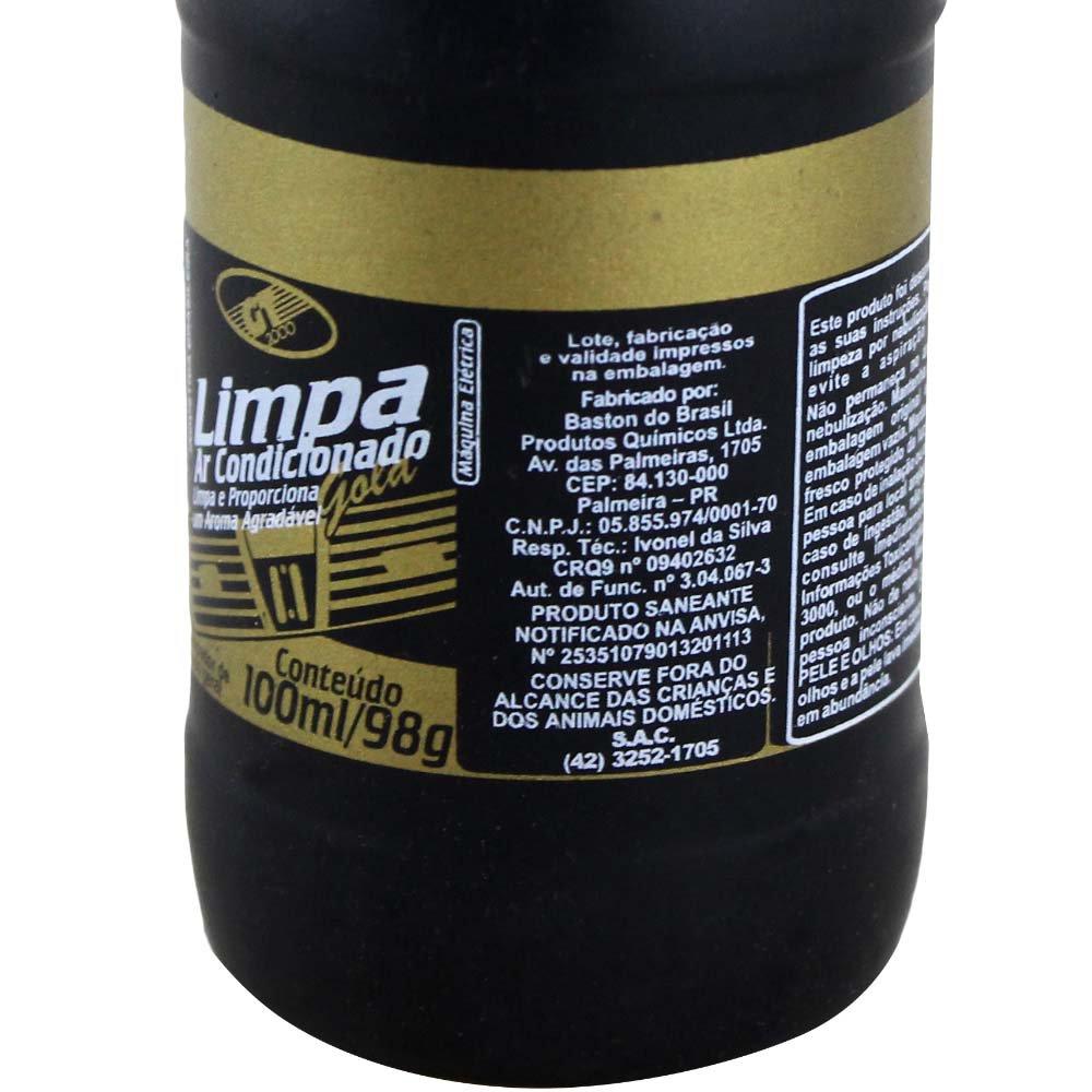 Líquido para Limpar Ar Condicionado Lima Limão 100ml - Imagem zoom