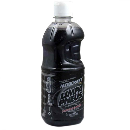 limpa pneus autocraft 500ml