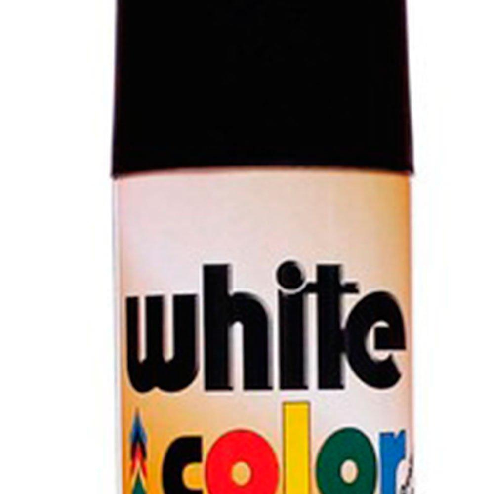 Tinta Spray White Color Preto Fosco 340ml - Imagem zoom