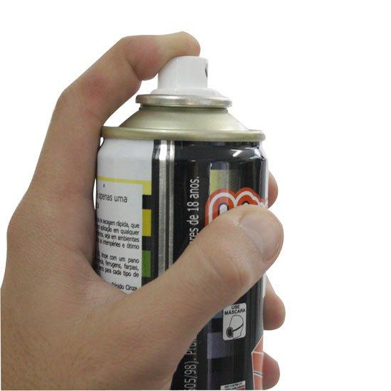 Tinta Spray Branco Geladeira 400ml - Imagem zoom