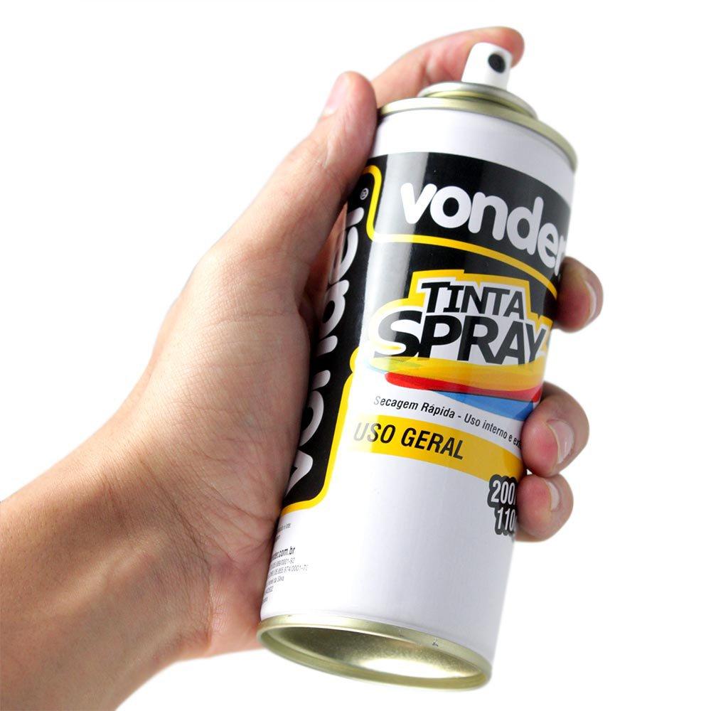 Tinta em Spray Preta Fosca com 200Ml - Imagem zoom