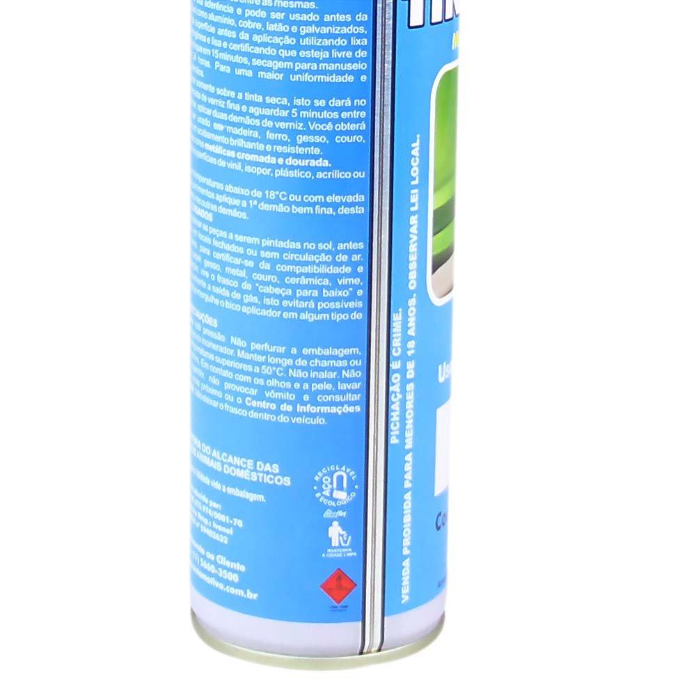 Tinta Spray Uso Geral Preto Brilhante 400ml  - Imagem zoom